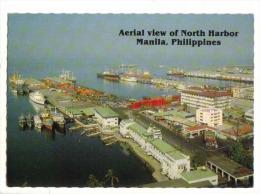 Manila - Aerial View Of North Harbor - Philippines