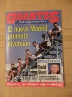 GIGANTES DEL SUPERBASKET, 510, 14-08-1995. REAL MADRID. OLAJUWON. - Revistas & Periódicos