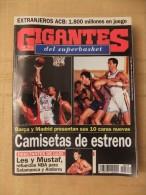 GIGANTES DEL SUPERBASKET, 512, 28-08-1995. BARCELONA. REAL MADRID. - Revistas & Periódicos