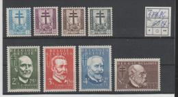 Bel Mi.Nr. 979-86/  BELGIEN -   Tuberkulose  1953 **  MNH - Ongebruikt