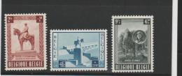 Bel Mi.Nr. 989-91/  BELGIEN - National Denkmal   1954 **  MNH - Ongebruikt