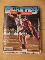 GIGANTES DEL SUPERBASKET, 515, 18-09-1995. UNICAJA, BARCELONA, REAL MADRID. - Revistas & Periódicos