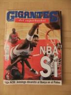 GIGANTES DEL SUPERBASKET, 516, 25-09-1995. CHICAGO BULLS, LOS ANGELES CLIPPERS. - Revistas & Periódicos