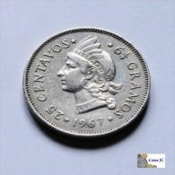 República Dominicana - 25 Centavos - 1967 - Dominicana