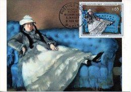 FRANCE. N°1364 De 1963 Sur Carte Maximum. Tableau De Manet. - Impresionismo