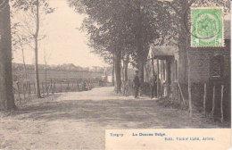 """1910 Virton   Torgny """" La Douane Belge """""""