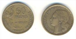 FRANCIA  50 FRANCHI  ANNO 1952 - M. 50 Franchi