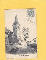 CPA -  RIZAUCOURT  - L'église - éditeur Francard Juzennecourt - Autres Communes