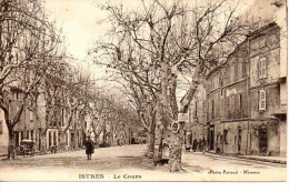 CPA - ISTRES - LE COURS - PARRAUD - - Istres