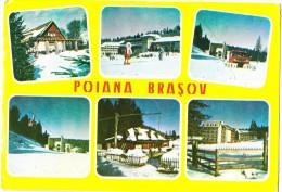 Romania, POIANA BRASOV, 1970s Used Postcard [14398] - Romania