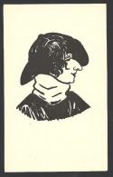 *** Sarah Bernhardt (?) - Rare Caricature Non Signée Format Cpa *** - Artisti