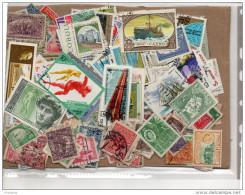 VRAC -LOT DE 500 TIMBRES Oblitérés -quelques Neufs Bon état Issus De Collections - Stamps