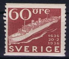 Sweden: 1935, Yv Nr 245 , Michel Nr 237a MNH/** - Zweden