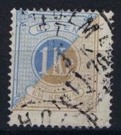 Sweden Postage Due 1874 Yv  10 Perfo 14 - Strafport