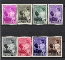 BELGIQUE (1937) - COB 447/454 *MLH - SM REINE ASTRID & SAR PRINCE BAUDOUIN - Unclassified