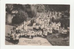 CPA 804 Seignelay Pélerinage Des Enfants De Coeur ( Rare) - France