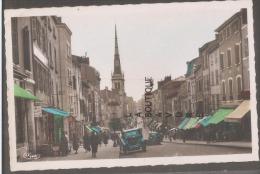 69----VILLEFRANCHE SUR SAONE--Rue Nationale---cpsm Pf-colorisée - Villefranche-sur-Saone