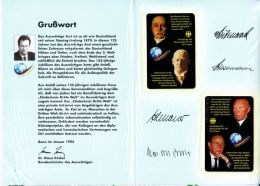 TELEFONKARTE PHONE CARD - Auswärtiges Amt - Deutschland