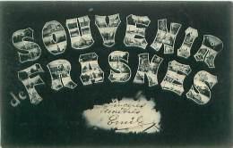 Cpa FRASNES - Souvenir De FRASNES - Frasnes-lez-Anvaing