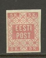 Estland Estonia Estonie 1918 Michel 1 * - Estonia