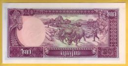 CAMBODGE - Billet De 20 Riels. 1979. Pick: 31 . NEUF - Cambodia