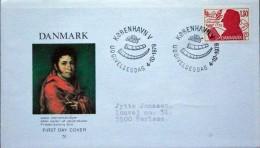 Denmark  1979    MiNr 694  FDC ( Lot  Ks ) POET - FDC
