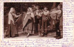 Napoli Costumi Napoletani ViaggiaTA IL 21/2/1905 - Napoli (Naples)