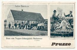 Neuhammer 1913, Cantine Koberbrunn,  Nach Dresden - Schlesien