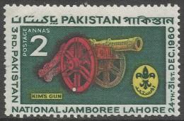 Pakistan. 1960 Third Pakistan Boy Scouts National Jamboree. 2a MNH - Pakistan