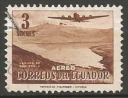 EQUATEUR POSTE AERIENNE N° 266 OBLITERE - Ecuador