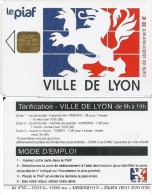CARTE PUCE TEST DEMO SIM GSM AUTRE PIAF LYON 03/13 TIRAGE 1000 EX