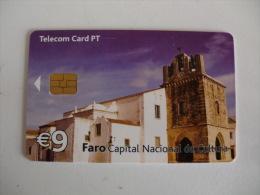 Phonecard/ Telécarte Telecom Card Faro Capital Nacional Da Cultura Portugal Tirage 30000 Ex. - Portugal