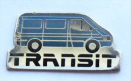 Pin's FORD TRANSIT - Le Fourgon - Progexion - D1312 - Ford