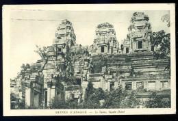 Cpa Du Cambodge Ruines D' Angkor -- Le Takeo Façade Ouest      PY18 - Cambodia