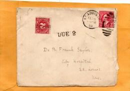United States 1898 Cover Postage Due - Briefe U. Dokumente