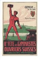 10875 -   Genève  Plaine De Plainpalais IIme Fête Des Gymnastes Ouvriers Suisses - GE Genève