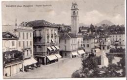 PALLANZA (VB) - PIAZZA GARIBALDI - F/P - V: 1909 - SB - Verbania