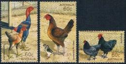 Australie - Volailles 3861/3863 ** - Gallinacées & Faisans