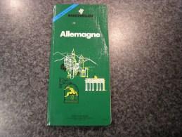 ALLEMAGNE  Guide Du Pneu Michelin Vert 1992  Régionalisme Tourisme Europe - Tourisme