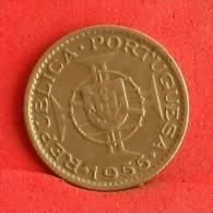 MOZAMBIQUE  2,5  ESCUDOS  1955   KM# 78  -    (Nº09708) - Mozambique