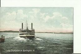 USA24   --   LAKE CHAMPLAIN AT BURLINGTON  --  SHIP - Burlington