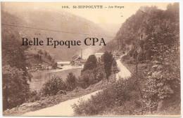 25 - SAINT-HIPPOLYTE - Les Forges +++ C. R., Tabacs, Montbéliard, #106 +++ Vers Paris, 1920 +++ - Saint Hippolyte
