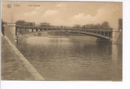 CP Liège Pont Gramme (et Trams) Vers 1908. Nels Très Rare Bistre - Luik