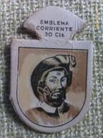 Emblema De Auxilio Social De 30 Cts De Juan Sebastián Elcano. Serie G. Nº 25. Guerra Civil Española. 1936-1939 - 1939-45