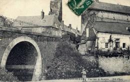 41  MONDOUBLEAU  Vue Sur Le Donjon Animée - France