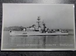 Militaria, Bateau , Navire De Guerre , Escorteur D 'escadre Cassard D623 , Photo Marius Bar Toulon, Marine National , - Boten