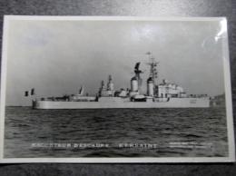 Militaria, Bateau , Navire De Guerre , Escorteur D 'escadre KERSAINT  D622 , Photo Marius Bar Toulon, Marine National , - Boats