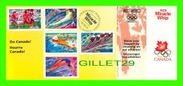 JEUX OLYMPIQUES - MIRACLE WHIP COMMANDITAIRE OFFICIEL 1992 - COMPLET AVEC COUPONS - - Jeux Olympiques