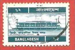BANGLADESH USATO - 1983 - Zia International Airport - 2 Taka - Michel BD D41 - Bangladesh