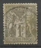 France - Type Sage - N°72 - Cachet à Date - - 1876-1878 Sage (Type I)